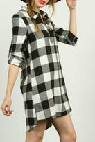Tcec Plaid Shirt Dress
