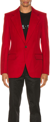 Givenchy Structured Jacket in Red | FWRD