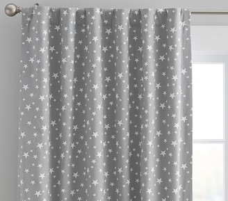 Pottery Barn Kids Star Printed Blackout Curtain