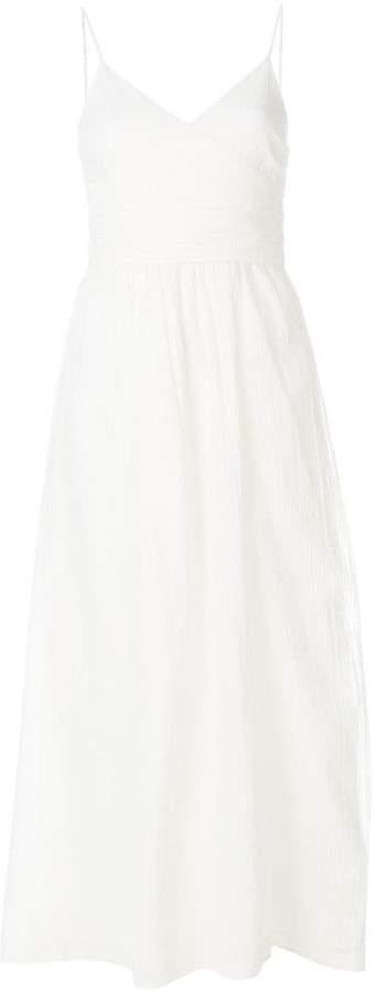 Mara Hoffman flared midi dress