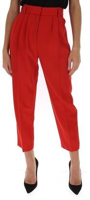 Alexander McQueen High Waisted Peg Pants