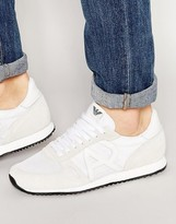 Armani Jeans Logo Runner Sneakers
