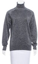 Ami Alexandre Mattiussi Metallic Turtleneck Sweater