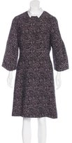 Lela Rose Collared Long Sleeve Dress w/ Tags