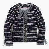 J.Crew Tweed Lady jacket with ties