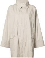 Issey Miyake classic short raincoat