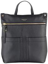 Radley Kensal Leather Backpack, Black