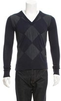 Viktor & Rolf Quilted Wool Sweater