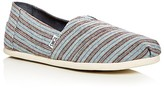 Toms Men's Seasonal Classic Stripe Slip-Ons