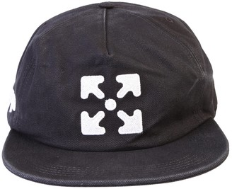 Off-White Embroidered Logo Cap