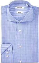 Isaac Mizrahi Plaid Slim Fit Dress Shirt