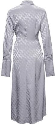 ATTICO Jacquard Mini Dress