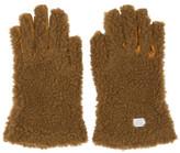 Stella McCartney Tan Faux-fur Gloves