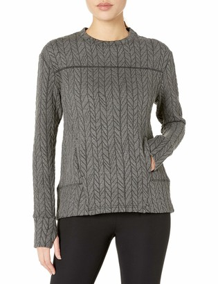 Shape Fx Women's Odyssey Pullover-Cable Knit