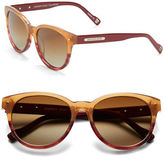 Andrew Marc 53mm Round Sunglasses