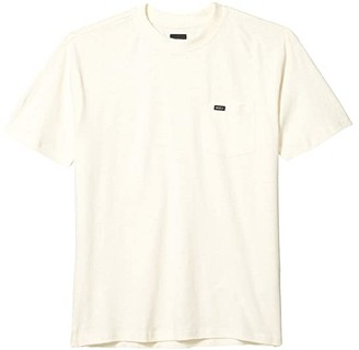 RVCA Harmonia Hemp Short Sleeve (Natural) Men's Clothing