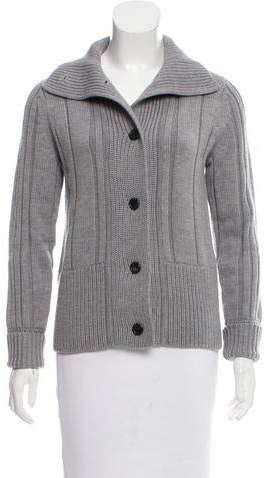 Wool Cable Knit Cardigan w- Tags