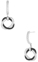 Alor Gold & Stainless Steel Earrings with Diamonds
