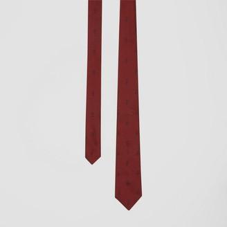 Burberry Classic Cut Puppytooth Check Silk Tie