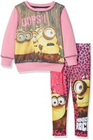 Universal Girl's Minion Cute Clothing Set