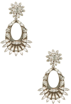 Dannijo Blanca Crystal Drop Earrings