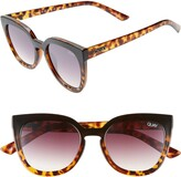 Thumbnail for your product : Quay Noosa 55mm Polarized Cat Eye Sunglasses