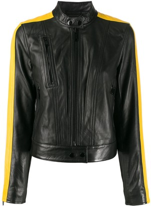 MICHAEL Michael Kors racer stripe jacket