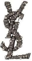 Saint Laurent Berber Silver Brooch