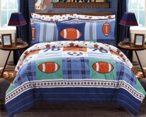 Chic Home All Star 6 Piece Twin Bed In a Bag Comforter Set Bedding