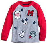 Disney Mickey Mouse Patch T-Shirt for Boys