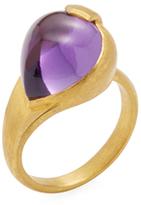 Amrapali 22K Yellow Gold & Amethyst Ring