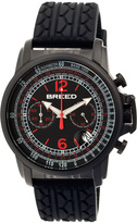 Breed Black Nash Chronograph Watch