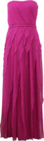 Pamella Roland Strapless Gown