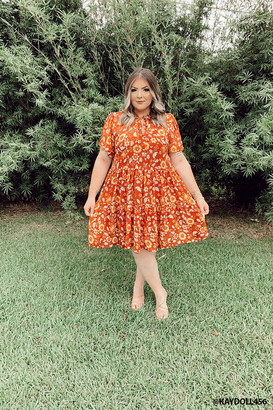 Forever 21 Plus Size Floral Dress