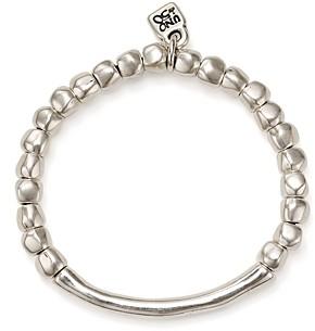 Uno de 50 Journey Beaded Logo Charm Bracelet