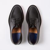 Paul Smith Men's Black Calf Leather 'Boyd' Derby Shoes