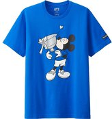 Uniqlo Men Mickey Plays Short Sleeve Graphic T-Shirt