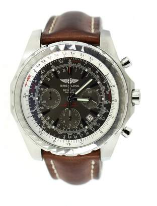 Breitling Grey Steel Watches
