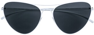 Mykita cat eye aviator sunglasses