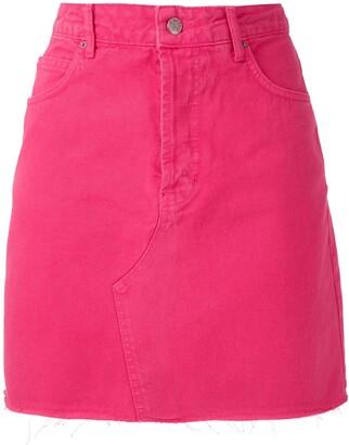 Eva Twill Mini Skirt