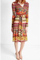 Etro Printed Wrap Dress
