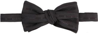 Givenchy Logo Chain Jacquard Bow Tie