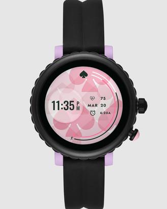 Kate Spade Scallop Sport Black Smartwatch