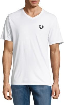True Religion Cotton Short Sleeve T-Shirt