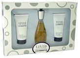 Liz Claiborne Vivid Perfume by for Women. 3 Pc. Gift Set.