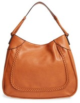 Sole Society Rema Faux Leather Shoulder Bag - Brown