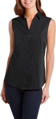 Foxcroft Taylor Non-Iron Sleeveless Shirt