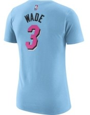 Nike Miami Heat Dwyane Wade Women's City Edition Player T-Shirt