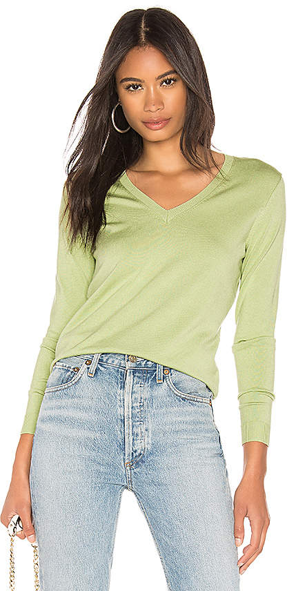 525 America Classic V Neck Sweater