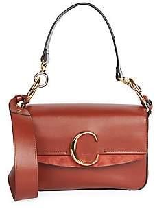Chloé Women's Small C Leather Shoulder Bag